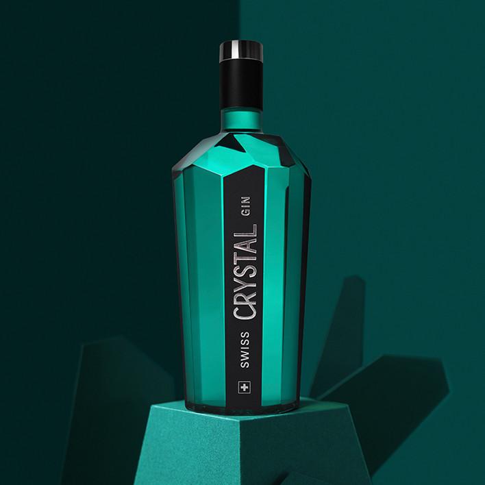 Keyvisual des Crystal Gin