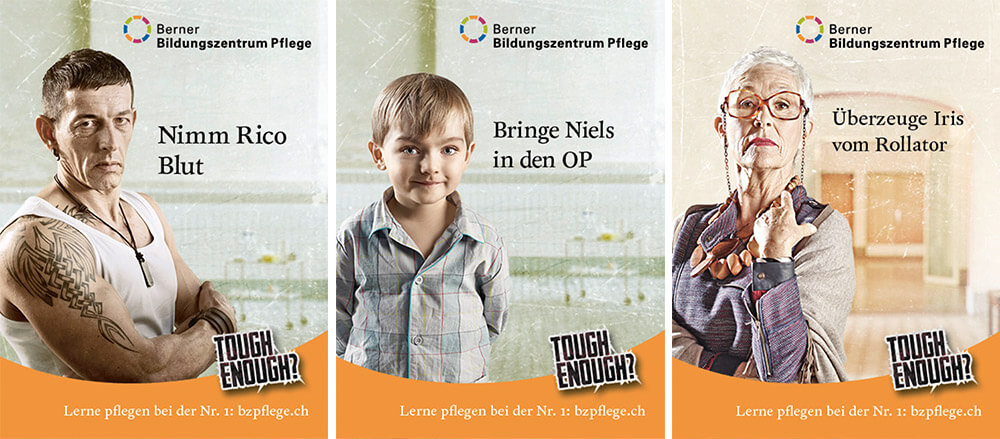 BZ Pflege Plakate