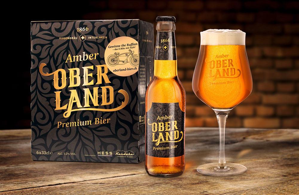 Oberland Bier Verpackung